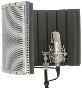 Mic Screen Reflexion Filter