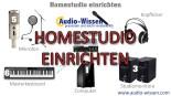 Homestudio einrichten 2